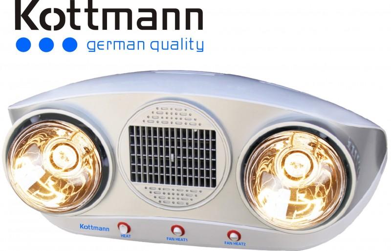 Đèn sưởi nhà tắm Kottmann K2B-HW-S