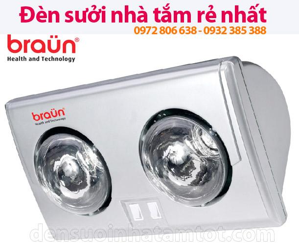 Đèn sưởi nhà tắm Braun BU02