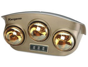 Đèn sưởi ấm trong nhà tắm Kangaroo KG251