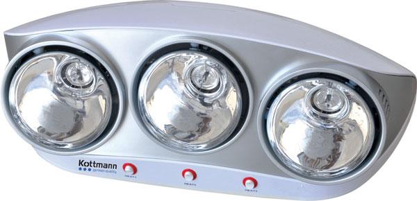 Đèn sưởi nhà tắm Kottmann K3B-S