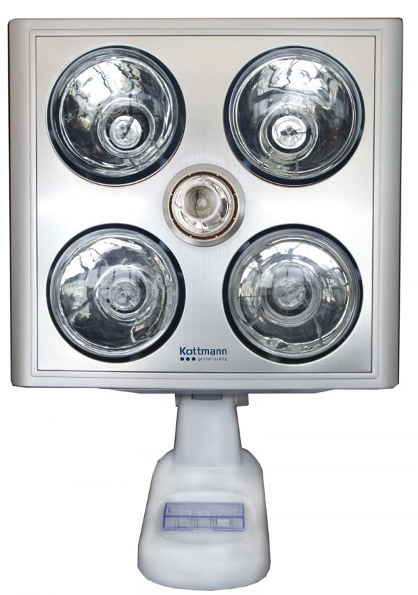 Đèn Sưởi Nhà Tắm Kottmann K4B-S 4 bóng