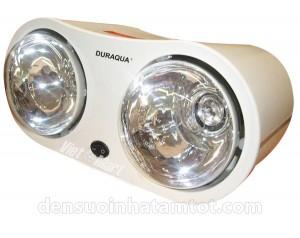 Đèn sưởi nhà tắm Duraqua DBA1C 2 bóng hồng ngoại treo tường