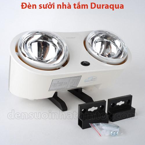 Đèn sưởi ấm Duraqua với phụ kiện kèm theo