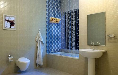 Đèn sưởi ấm Sunhouse an toàn trong nhà tắm