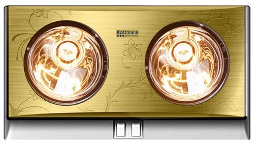 đèn sưởi nhà tắm kottmann K2B G