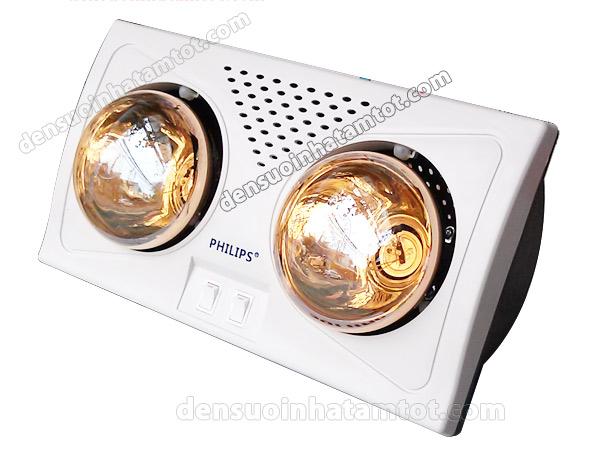 Đèn sưởi nhà tắm 2 bóng Philips