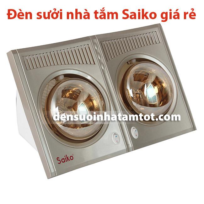 Đèn sưởi nhà tắm 2 bóng Saiko BH-550H