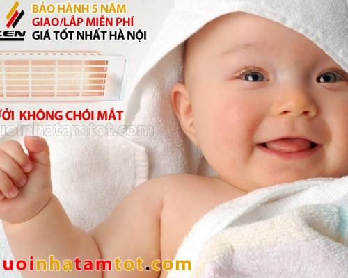 den suoi tam khong choi mat Heizen 1000w