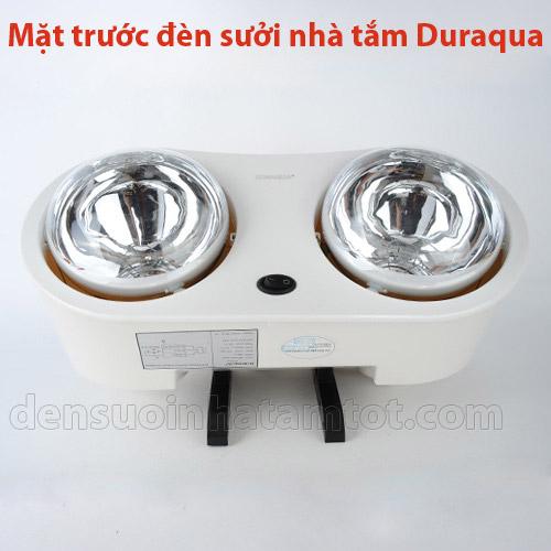 Mặt trước của đèn sưởi Duraqua DBA1C