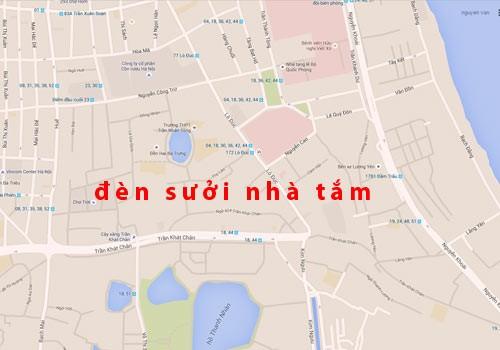 ban den suoi nha tam khu vuc quan Hai Ba Trung