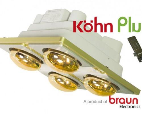 Đèn sưởi nhà tắm Kohn KN04G Plus