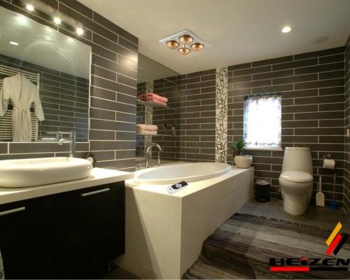 đèn sưởi nhà tắm âm trần heizen 4 bóng có điều khiển từ xa