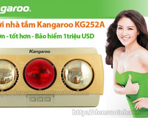Đèn sưởi nhà tắm Kangaroo KG252A