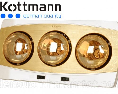 đèn sưởi nhà tắm Kottmann K3B-H 3 bóng năm 2015