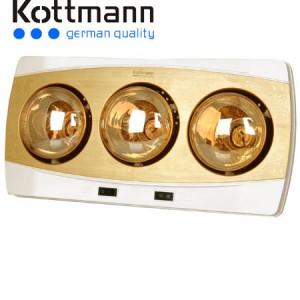 đèn sưởi nhà tắm Kottmann K3B-H 3 bóng năm 2015 ava