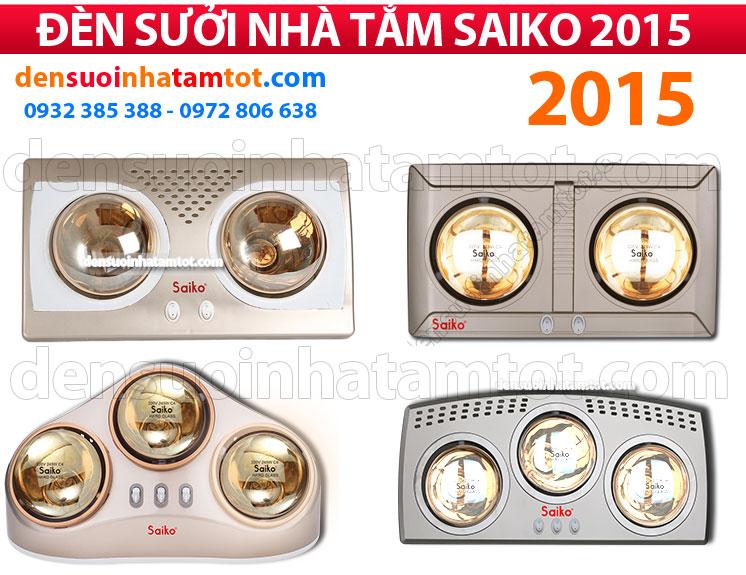 đèn sưởi nhà tắm Saiko 2015