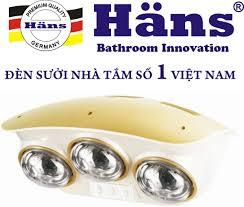 Giấy chứng nhận của đèn sưởi nhà tắm Hans