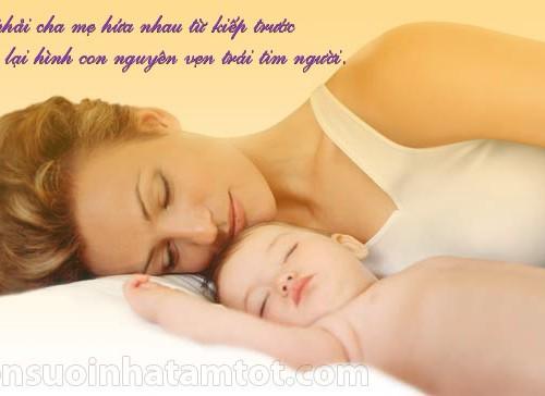 Tình yêu của mẹ dành cho con