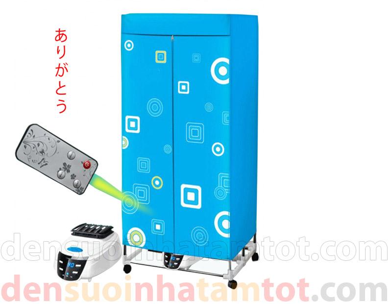 Máy sấy quần áo Panasonic HD-882 có điều khiển khung thẳng