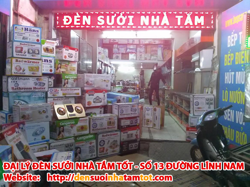 Đại lý đèn sưởi nhà tắm tại Hà nội - dai ly den suoi nha tam tai Ha noi