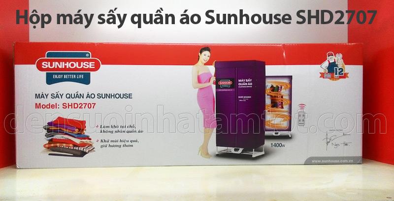 Hộp tủ sấy quần áo Sunhouse SHD 2707