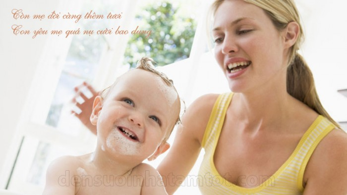 đèn sưởi nhà tắm hans tốt cho bé và mẹ