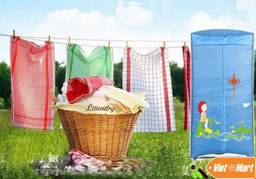 Sử dụng tủ sấy quần áo bền đẹp