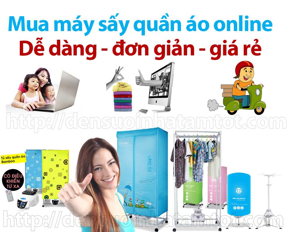 mua máy sấy quần áo online giao lắp miễn phí free ship các quận tại Hà Nội