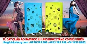tu-say-quan-ao-bamboo-khung-inox-2-tang-co-dieu-khien