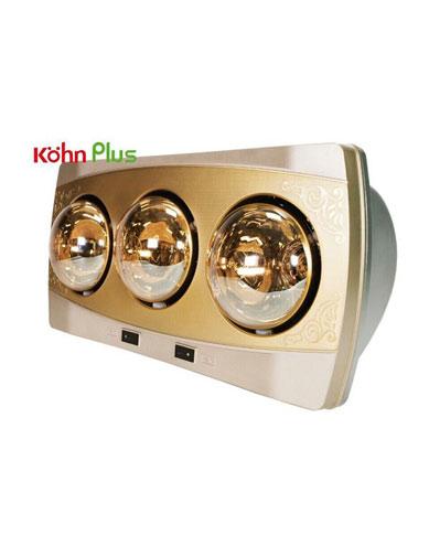 Đèn sưởi nhà tắm Kohn KF03G 3 bóng