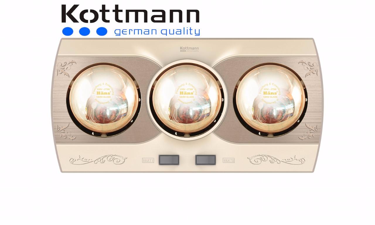 Đèn sưởi nhà tắm Kottman K3B-Q